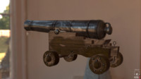 18th century cannon 3d model