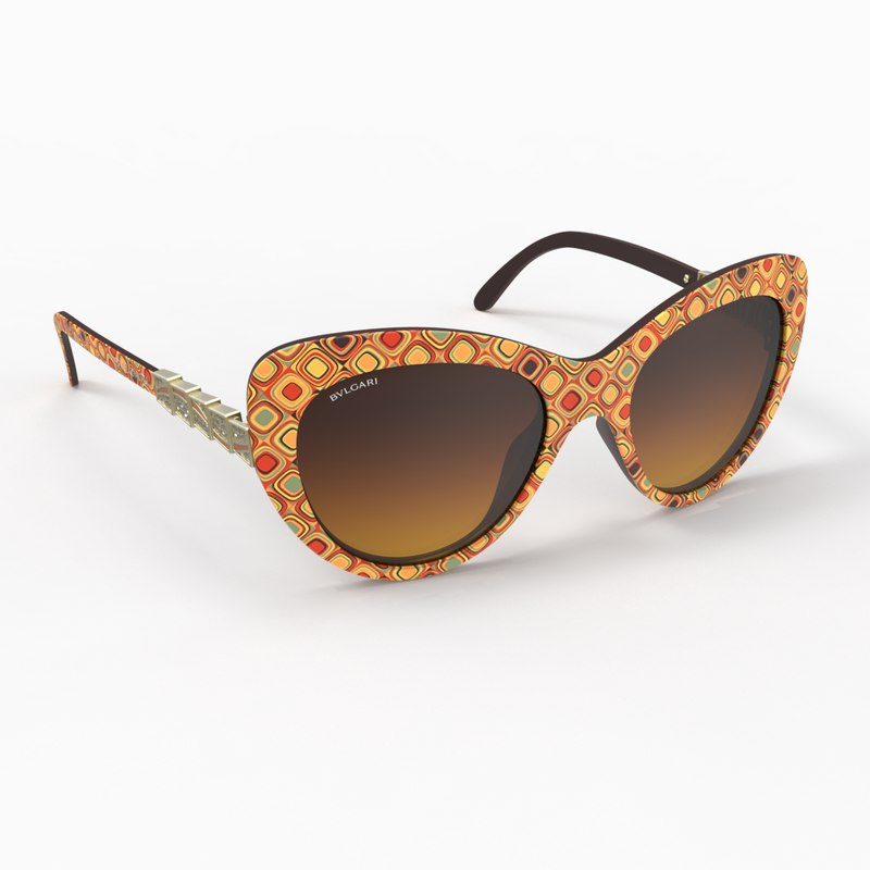 3dsmax stylish bvlgari sunglasses