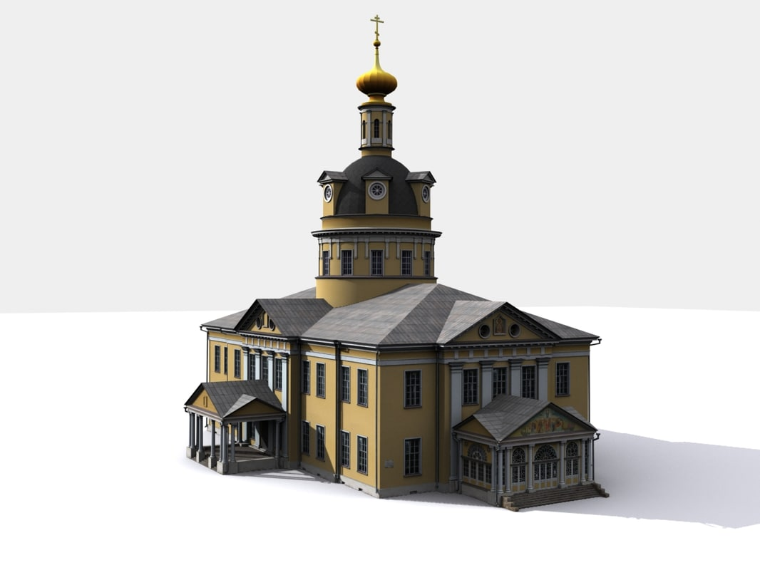 cathedral pokrovsky 3d 3ds