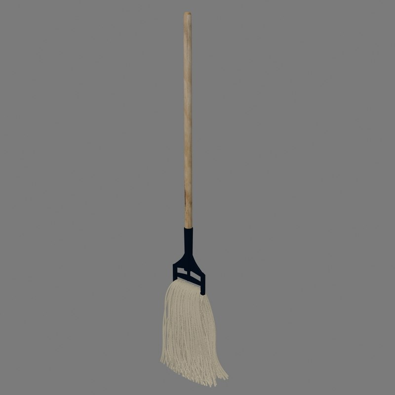 3d mop model