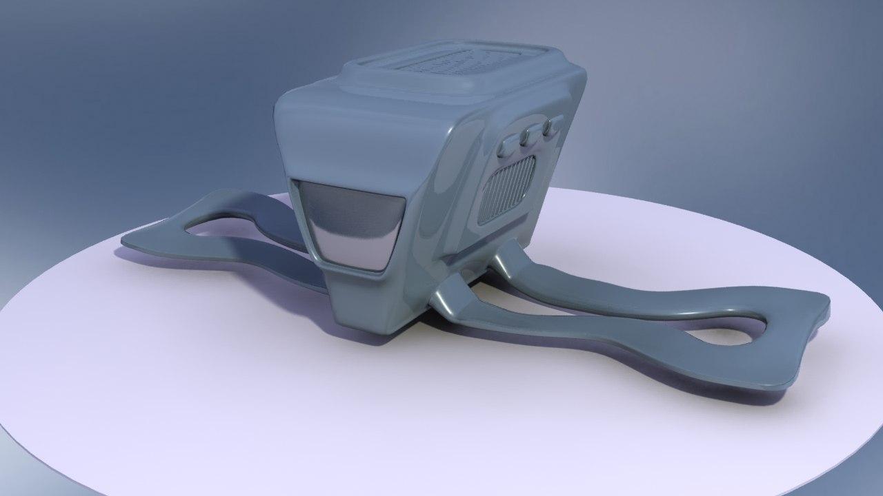 space transporter 3d model