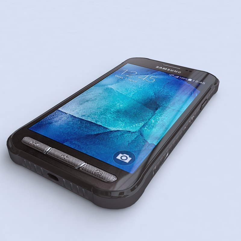 samsung galaxy xcover 3 3d model