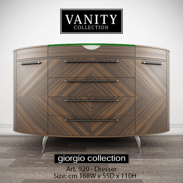 giorgio vanity art 920 3d model