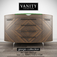 GIORGIO COLLECTION Vanity Art 920 Dresser