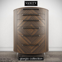 GIORGIO COLLECTION Vanity Art 940 Chest