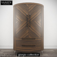GIORGIO COLLECTION Vanity Art 950 Two Doors Armoire
