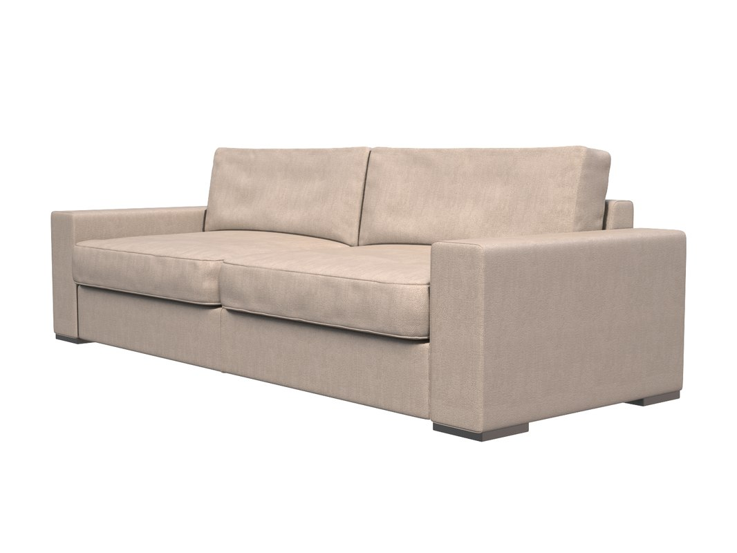 3ds max standard sofa couch