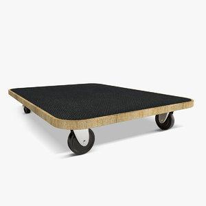 rolling tray 3d model