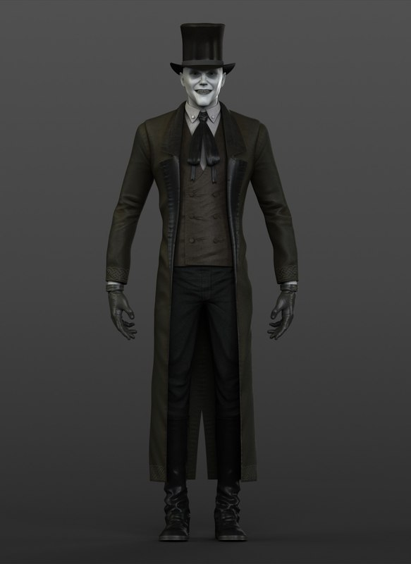 26ab91d5ffe 3d model victorian gothic vampire