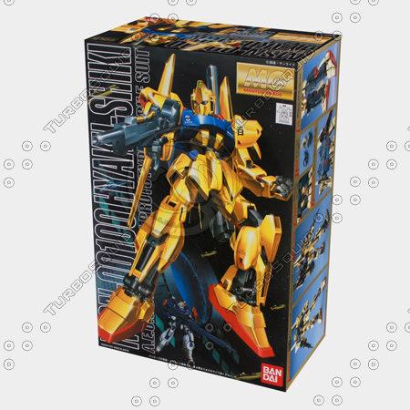 3d bandai box model