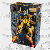 3d bandai box model