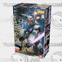 3ds bandai gundam box