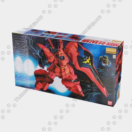 3d model bandai box