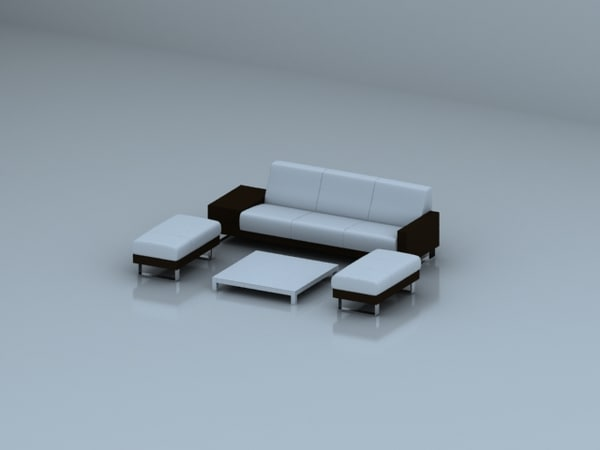 3d max furniture sofa