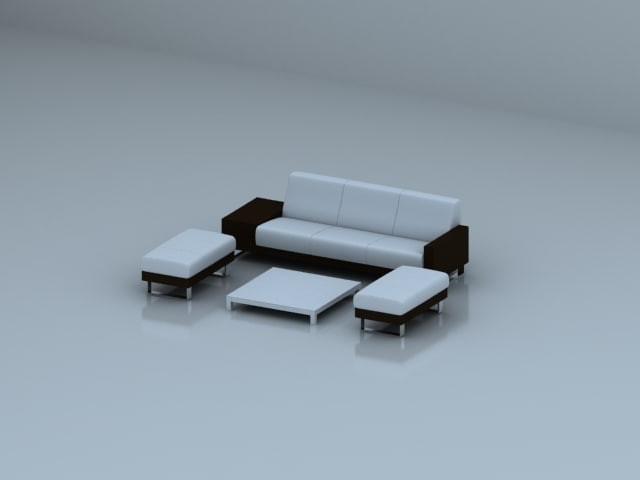 3d max furniture sofa