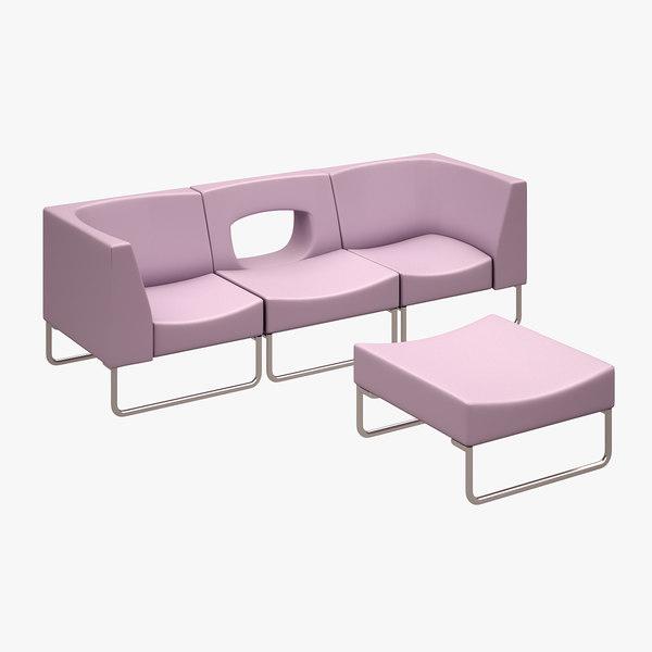 chair koleksiyon opera 3d model