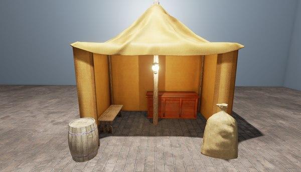 3d ready bag barrel
