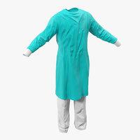 3d surgeon dress 5