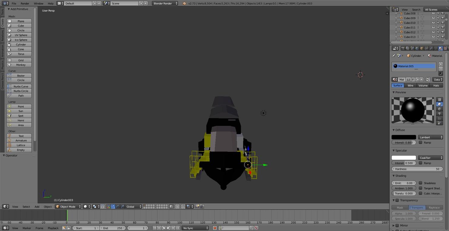 free blend model train