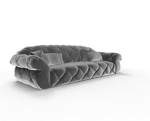 3ds max sofa paramount