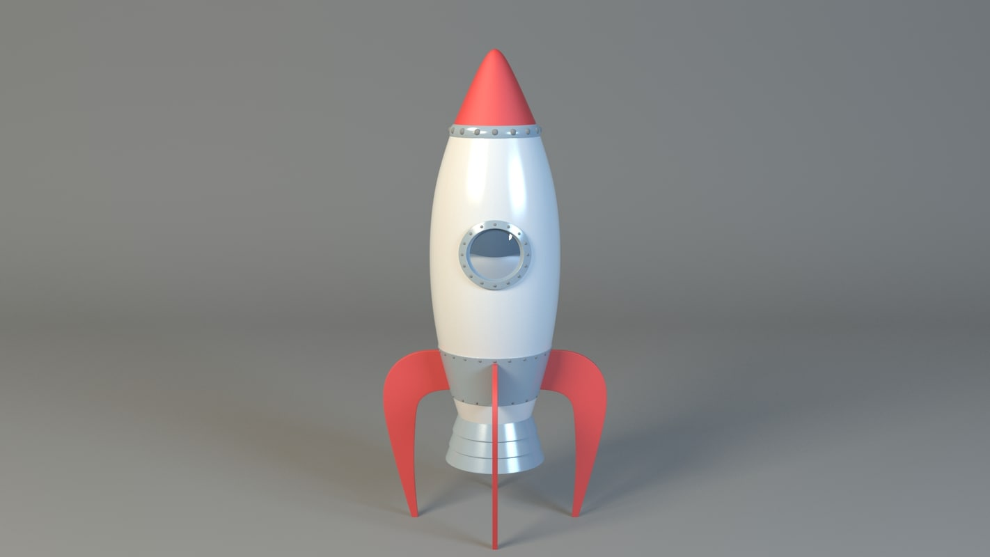 max cartoon rocket