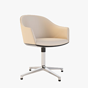 vitra softshell chair max