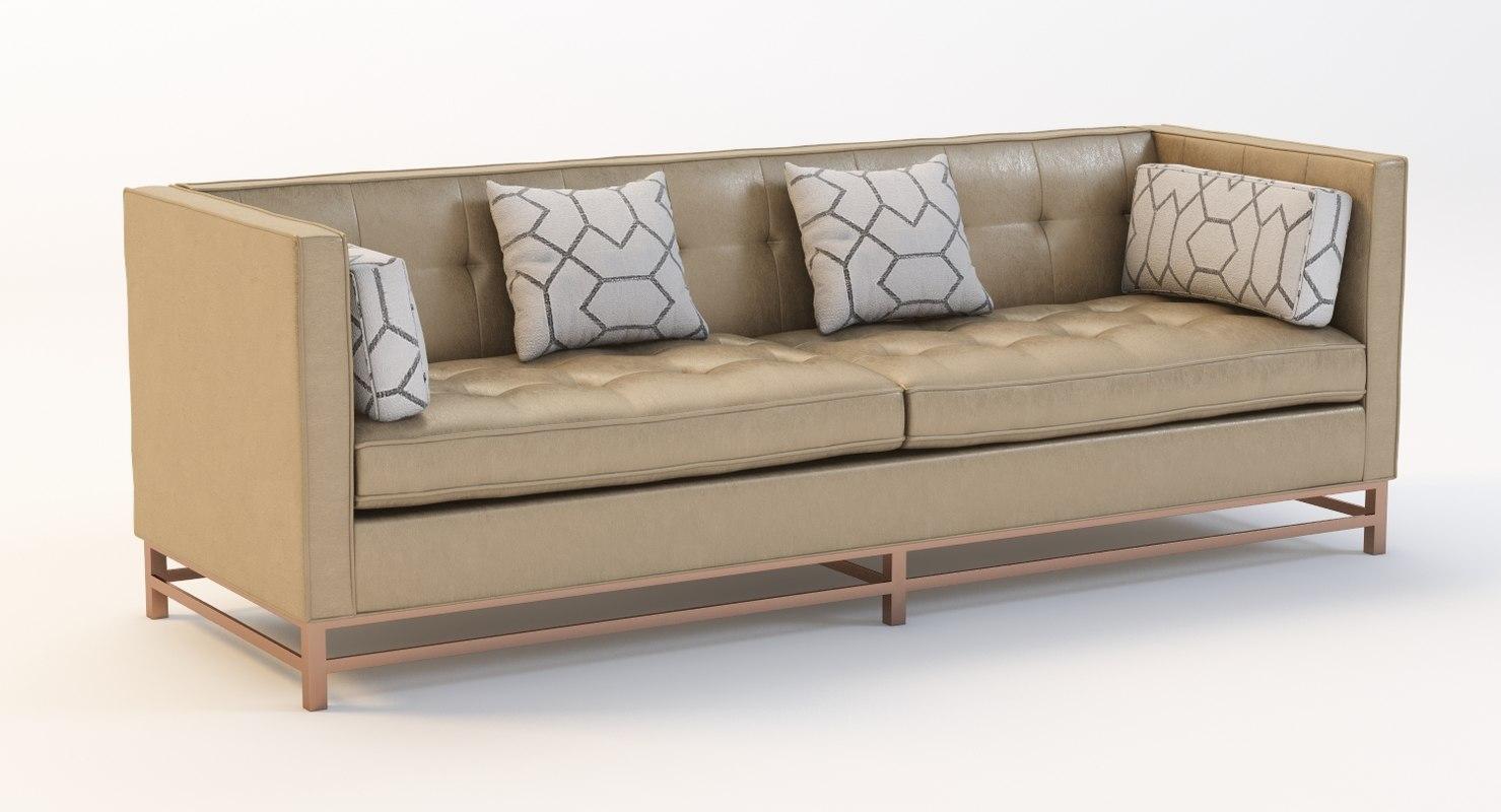 shea 10-236 sofa 3d model