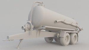 3D septic tanker 2