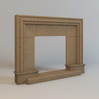 fireplace chamotte clay
