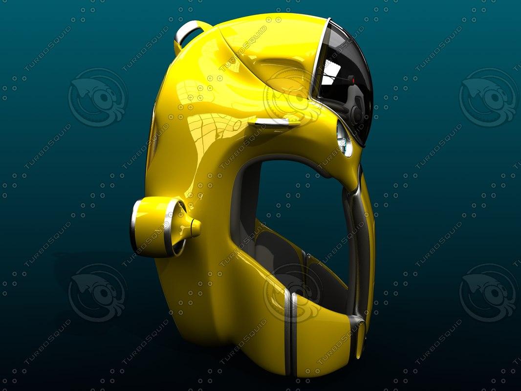 3d divers suit model