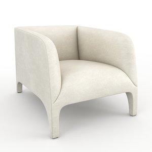 opale erba italia armchair 3d max