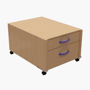 moll basic table mini 3d model