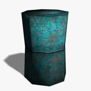 barrel ready 3d model