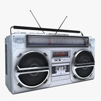boombox cassette player 3ds
