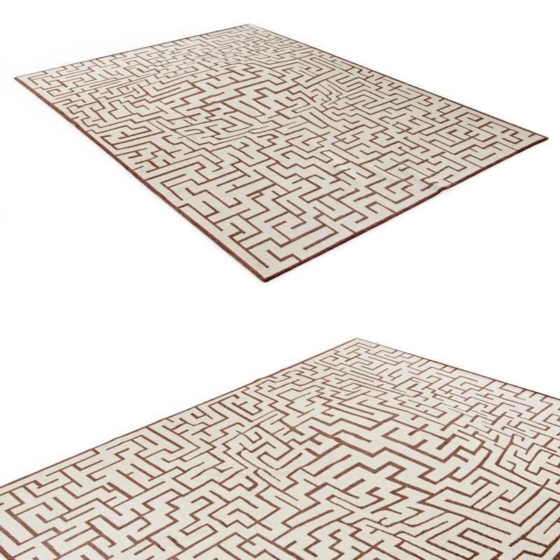 contemporary rug max
