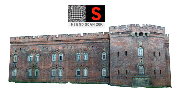 3dsmax fort facade old