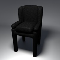 free chair 1 3d model
