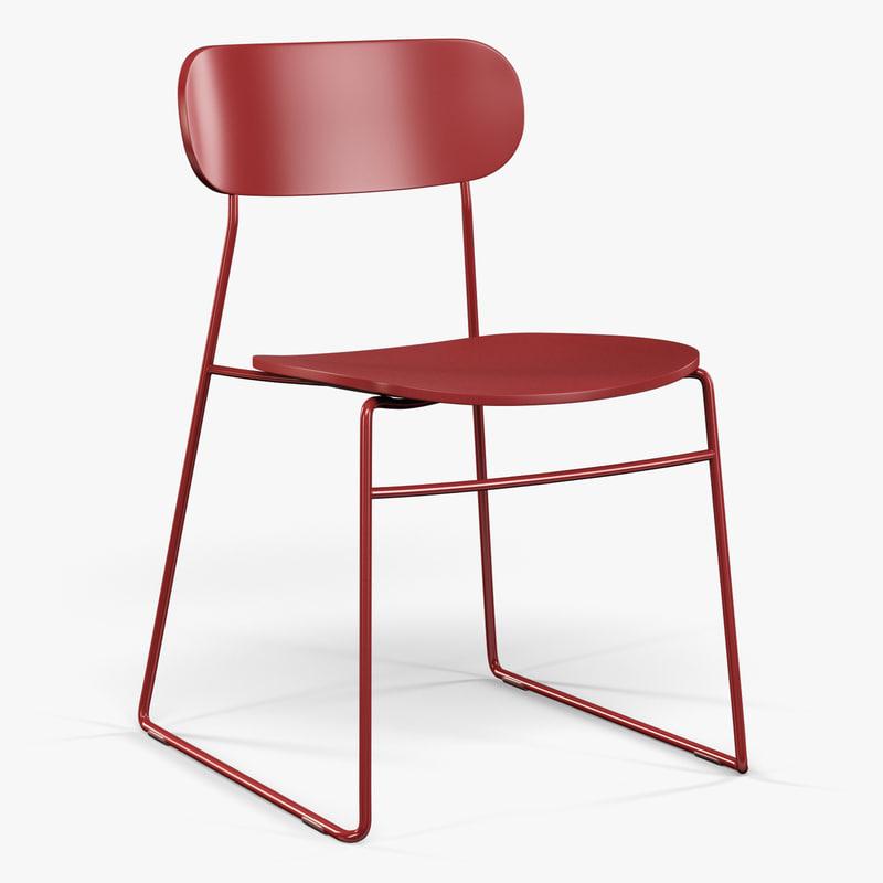 3ds max modus plc wire chair