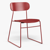Modus PLC Wire plywood seat chair
