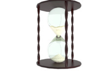 hourglass glass 3d max