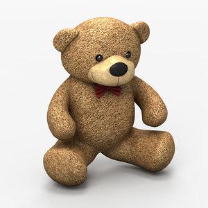 teddy bear 3ds