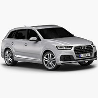 2016 Audi Q7 S line (Low Interior)