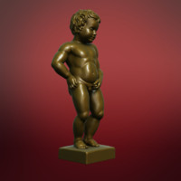 Manneken Pis sculpture