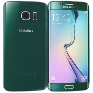 samsung galaxy s6 green 3d model
