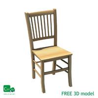 free obj mode chair