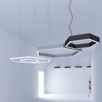 free 3ds mode pendant led lights
