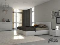 3d model bedroom scene