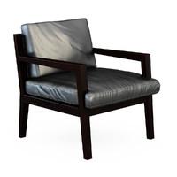 3d armchair chair m