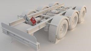 trailer suspension 1 3D
