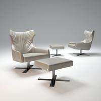 grace-armchair 3d model